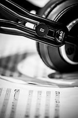 Score (RawckinºPixel) Tags: music musician score recording sierrarecordingstudios sierra studio headphones akg session video shooting monochrome blacknwhite bw creativity culture