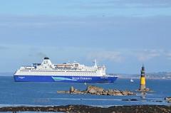 Penultimate Docking (@ tb 2018) Tags: oscarwilde roscoff irishferries rosslare ship france
