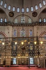 Interiores (bardaxi) Tags: istanbul estambul turkey turquía europa europe nikon hdr photomatix photoshop interior contraste perspectiva mezquita süleymaniye süleymaniyemosque arte arquitectura islam detalle historia luces lights monumento