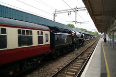 70000 (Gricerman) Tags: southend southendcentral southendcentralstation 70000 britannia britanniaclass cathedralsexpress