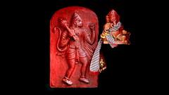 India - Sikkim - Namchi - Siddhesvara Dham - Hanuman & Ganesha Shrine At Badrinath Dham - 111bd (asienman) Tags: india sikkim namchi siddhesvaradham hanuman ganesha asienmanphotography asienmanphotoart badrinathdham