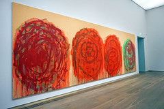 Roses by Cy Twombly - Brandhorst Museum, Munich (SomePhotosTakenByMe) Tags: roses rosen cytwombly twombly brandhorst museum münchen munich bavaria bayern germany deutschland ausstellung exhibition kunst art indoor gemälde painting