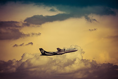 Air NZ Takeoff (Lyndon (NZ)) Tags: 2018 auckland nz newzealand aircraft airplane cloud travel plane transport