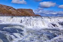 Gullfoss (mansachs) Tags: gullfoss iceland island icelandnature waterfall waterscape water landscape vand vattn