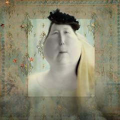 Matilda (WayneToTheMax) Tags: matilda character frame vintage lady fat heavy full figure cheeks hat stars paris
