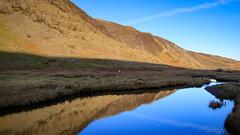 Winter Sun [explore 07.01.19] (mandysp8) Tags: carneddau wales mountains lake stream sunshine winter uk canon 750d reflection mirrorimage