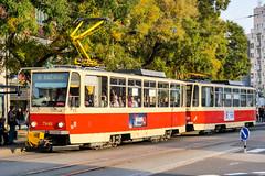BTS_7946_201811 (Tram Photos) Tags: ckd tatra t6a5 bratislava dopravnýpodnikbratislava dpb strasenbahn tram tramway električková mhd električka