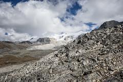 Mountains from Loju La pass - Lunana Gewog - Gasa District - Snowman Trek - Bhutan (PascalBo) Tags: nikon d500 asie asia southasia asiedusud drukyul drukgyalkhap bhutan bhoutan འབྲུག་ཡུལ། འབྲུག་རྒྱལ་ཁབ་ snowman trek trekking hike hiking lunana gasa himalaya himalayas mountain montagne sky ciel outdoor outdoors pascalboegli