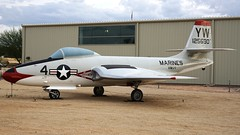 McDonnell F2H-2P Banshee 125690 in Tucson (J.Comstedt) Tags: aircraft flight aviation air aeroplane museum airplane us usa planes pima space tucson az johnny comstedt mcdonnell f2 banshee navy 125690 marine corps marines