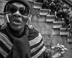 Broad Street, 2019 (Alan Barr) Tags: philadelphia 2019 broadstreet candidportrait street sp streetphotography streetphoto blackandwhite bw blackwhite mono monochrome candid city cigarette people panasonic gx9