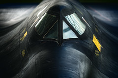 Lurking (speedcenter2001) Tags: airplane historic ashland sac strategicaircommand strategicairandspacemuseum museum nebraska lockheed skunk works cockpit nikon180mmf28edais manualfocus d810