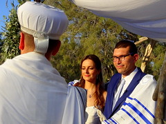 Wedding Ceremony (dimaruss34) Tags: newyork brooklyn dmitriyfomenko image greece antiparos wedding trees groom bride rabbi chuppah tales