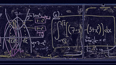 Formula for headaches -[ HSS ]- (Carbon Arc) Tags: sliderssunday chalkboard mathematics math maths calculus differential integration formula theorem abstract photoshop nikcollection colorefexpro inscrutable difficult challenging indecipherable writing illustration
