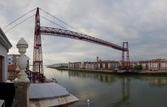 Puente de Vizcaya. (Luis Pérez Contreras) Tags: puentevizcaya puentedevizcaya puentecolgante puentepalacio bizkaikozubia bizkaia vizcaya puente getxo portugalete 2018 olympus m43 mzuiko omd em1mkii travel viaje