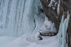 Winter Wonder 5 - The Wonder of Niagara 5 #TBT - Niagara Falls in 2015 (remiklitsch) Tags: winterwonderseries series niagarafalls polarvortex nikon remiklitsch march 2015 nature falls winter snow ice frozen colorofwinter horseshoefalls canada ontario landscape