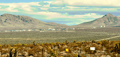 You're not welcome here (M McBey) Tags: mercury nevada testsite nuclear nuke secret closed isolated military barren area51
