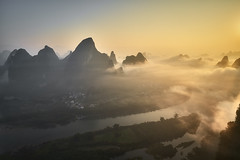 Guilin Chine (EtienneR68) Tags: marque a7r3 a7riii sony landscape mountain montagne nature eau paysage guilin yangshou riviere river sunrise voyage water travel pays chine china
