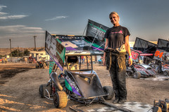 Feature Winner (Brad Prudhon) Tags: 2018 blackcanyonspeedway emmett idaho motorsports race september track gokart outlaw racing