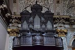 Teruel Organo de la iglesia del Salvador (gerard eder) Tags: world reise travel viajes europa europe españa spain spanien städte teruel sacral sacralbuilding iglesia church kirche organo orgel aragon aragón interior
