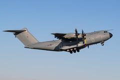 ZM418 A400M Atlas C1 RAF Prestwick 01.02.19 (Robert Banks 1) Tags: zm418 418 airbus a400 a400m atlas c1 raf royal air force prestwick egpk pik