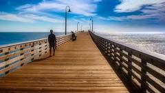 Scream of Sunset (CDay DaytimeStudios w /1 Million views) Tags: beach ca california cayucos coastline highway1 ocean pacificcoast pacificcoasthighway pacificocean water