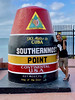 Gabby at Southernmost Point