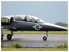 Breitling Jet Team 2017 (Aerofossile2012) Tags: breitling breitlingjetteam dijon longvic ba102 meeting airshow aerovodochody avion aircraft aviation patrouille meetingdefrance 2017 albatros l39 people pilot pilote
