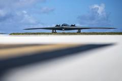 B-2s land at Andersen Air Force Base (Jay.veeder) Tags: b2 spirit bomber 509thbw stealthbomber pacaf afgsc pacom guam andersenairforcebase 36thwing andersenafb