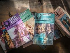Romantic Ireland (Siobhán Bermingham) Tags: urbex books abandoned interior decay old house deserted naturallight millsandboon romance