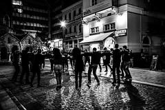 Dancing on a street, Athens, Greece (Davide Tarozzi) Tags: dancingonastreet athens greece dance youngpeople giovani balloperstrada αθήνα street streetphotography