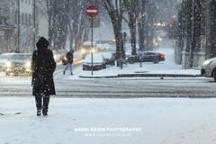 Snowing in Old Town Tallinn, Estonia (Naomi Rahim (thanks for 4 million visits)) Tags: tallinn estonia europe europa 2018 travel travelphotography nikon nikond7200 wanderlust winter snow oldtown streetphotography street road people coat city town