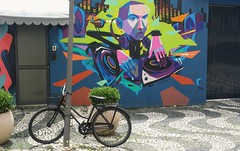 Bicicleta  & Arte (dirceu1507) Tags: urbanart streetart streetphotograph strassenfotografie fotografiadistrada vélo biciclettes bicicletas bicycles graffitigrafitemuralmurales graffiti grafite