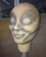 Início de pintura.  Replica Annabelle.  #Cover #borracha #poliuretano #modelagem #clay #Dolls #escultura #sculpture #plastilina #film # #terror #latex #mold #annabelle #theconjuring #molde #annabelledoll (MDTeStudio) Tags: terror escultura theconjuring mold sculpture annabelledoll borracha film latex clay cover annabelle plastilina modelagem dolls poliuretano molde