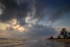 IMG_6340 ~ awan pagi (alongbc) Tags: sunrise landscape tree seascape shoreline coast lanjutbeach kualarompin rompin pahang malaysia travel place trip canon 700d canonlens 10mm18mm wideangle happyplanet asiafavorites