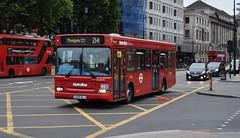 DLD695 Metroline (KLTP17) Tags: dld695 metroline plaxton dart lk55klj 214 london bus withdrawn