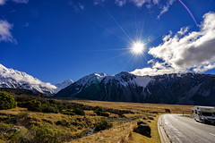 Morning from a Roadtrip (Kitonium) Tags: morning roadtrip nz new zealand mtcooknz mtcook mt cook sunrise outdoor landscape nature road trip travelling travelgram travel sony a7m2 sonyalpha picoftheday photooftheday