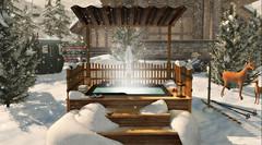 #44- Nordic Bath (Rhea's Rooms) Tags: secondlife astralia collabor88 theliaisoncollaborative tlc serenitystyle consignment trompe hive brocante