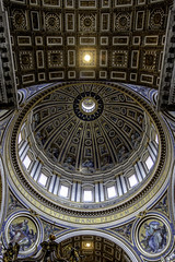 Dome of St Peters Basilica Rome 2015, (John Hoadley) Tags: dome stpetersbasilica rome church italy september 2015 canon 7dmarkii 1740 f4