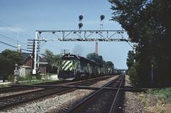 BN SD45 6492 (chuckzeiler50) Tags: bn sd45 6492 railroad emd locomotive hinsdale train chz giballbach