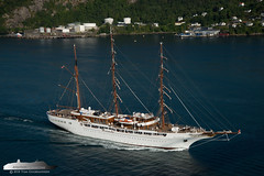 Sea Cloud II (Aviation & Maritime) Tags: seacloudii seacloudcruises cruiseship cruise tallship bergen norway