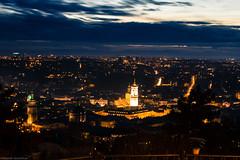 Lviv after the sunset (oleksandr_yaroshchuk) Tags: city sunset lviv ukraine evening night sky blue dark light architecture