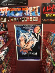 """Horror Movie Displays at Slashback Video • <a style=""""font-size:0.8em;"""" href=""""http://www.flickr.com/photos/28558260@N04/31352130147/"""" target=""""_blank"""">View on Flickr</a>"""