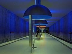 Westfriedhof station (jrw080578) Tags: underground germany deutschland bavaria bayern munich münchen ubahn