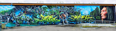 Graffiti 2017 im Freiland Potsdam (pharoahsax) Tags: deutschland graffiti kunst potsdam brandenburg orte graffitycharacter objekte art streetart street urban urbanart paint graff wall artist legal mural painter painting peinture spraycan spray writer writing artwork tag tags worldgetcolors world get colors