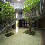 環境と共生した賃貸集合住宅の写真