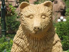 Bear Sculpture (meeko_) Tags: bear sculpture canada canadapavilion worldshowcase epcot themepark walt disney world waltdisneyworld florida