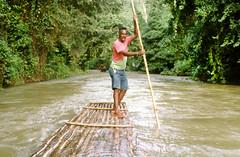 Raft Captain (HarveNYC) Tags: jamaica 1992