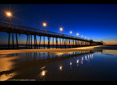 Imperial Reflections (Sam Antonio Photography) Tags: people sunset ocean beach water california reflection pier sky pacific nature sand shore travel vacation twilight colorful sea scenic waves beautiful orange sun surf coast landscape silhouette shoreline dramatic silhouettes