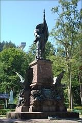 Innsbruck (Tirol, Austria, 20-7-2016) (Juanje Orío) Tags: 2016 innsbruck tirol austria europa europe europeanunion unióneuropea escultura estatua sculpture parque personajehistórico
