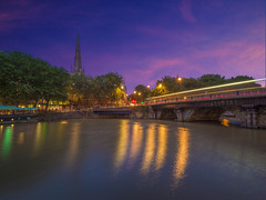 One day i will wake up and find my life was just a dream (Wizard CG) Tags: bristol bridge england long exposure sun set ngc micro four thirds 43 m43 olympus mzuiko digital ed world trekker reflection water river outdoor dusk epl7 architecture arch skyline building sky city